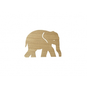Elephant Lamp Oiled Oak van Ferm Living