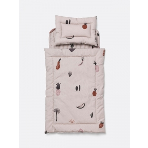 Fruticana Doll Quilt Bedding Set van Ferm Living