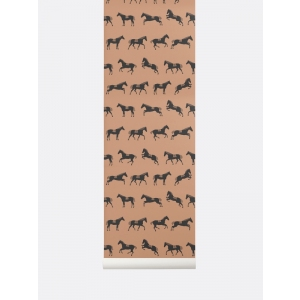 Horse Wallpaper van Ferm Living