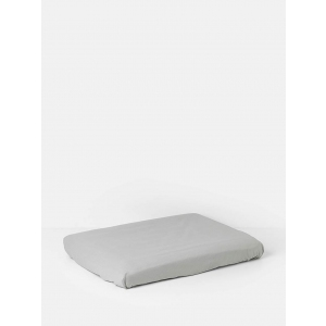 Hush Changing Fitted Sheet Grey van Ferm Living