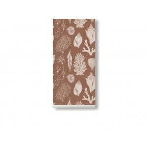 Katie Scott Shells Wallpaper Toffee van Ferm Living