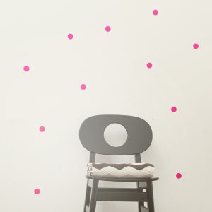 Mini Dots Muurstickers - Neon van Ferm Living