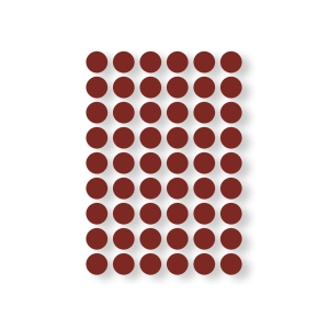 Mini Dots Wallsticker – Red van Ferm Living