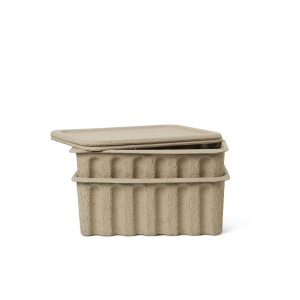 Paper Pulp Box Large Set Of Two van Ferm Living