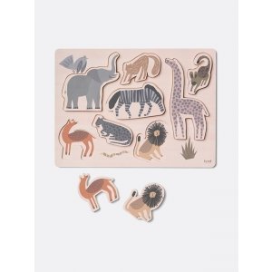 Safari Puzzle  van Ferm Living
