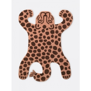 Safari Tufted Rug Leopard  van Ferm Living