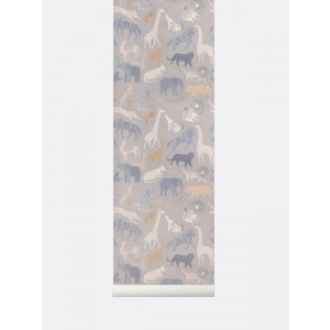 Safari Wallpaper van Ferm Living