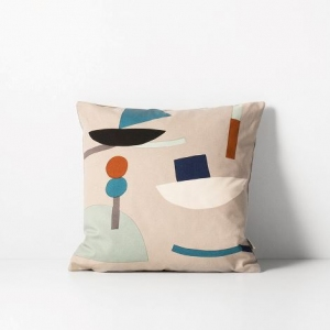 Seaside Cushion Grey van Ferm Living