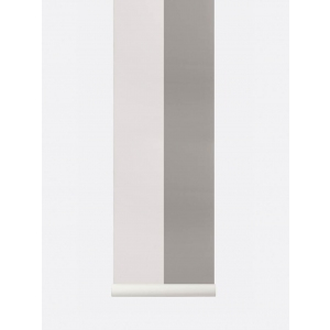 Thick Lines Wallpaper Grey/ Offwhite van Ferm Living