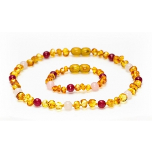 Amber Necklace Goddess van Grech & Co.