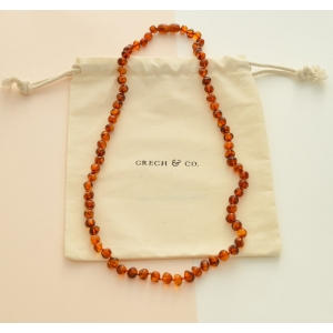 Baltic Amber Adult Necklace van Grech & Co.