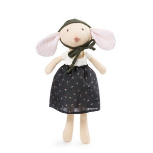 Annicke mouse in black skirt outfit van Hazel village