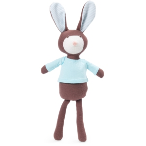 Lucas Rabbit In Turquoise Shirt van Hazel Village
