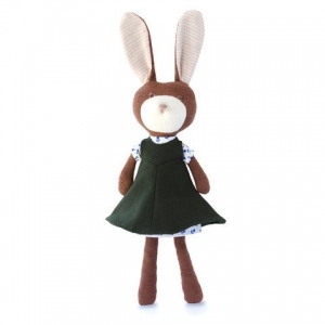 Zoe Rabbit In Forest Smock Outfit van Hazel Village