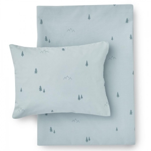 Forest Organic Cotton Bed Linen van Hibou Home