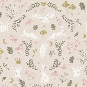 Woodland Wonder Wallpaper  van Hibou Home