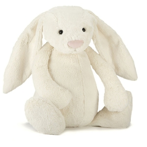 Bashful Cream Bunny Huge van Jellycat