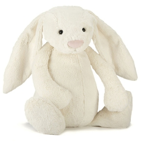 Bashful Cream Bunny Large van Jellycat