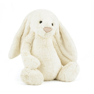 Bashful Cream Bunny Medium van Jellycat