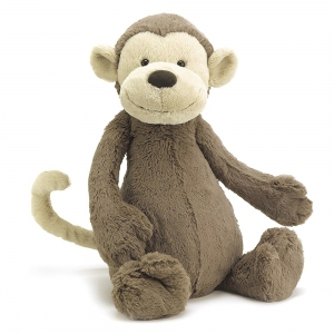 Bashful Monkey Huge van Jellycat