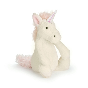 Bashfull Unicorn Small van Jellycat
