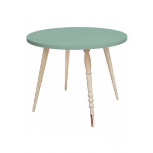 Round Coffee Table My Lovely Ballerine Celadon Green van Jungle By Jungle