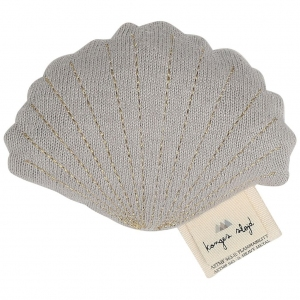 Clam Toy Venusschelp Light Grey Melange van Konges Slojd