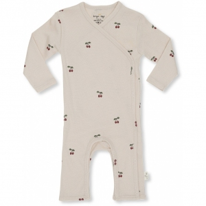 New Born Onesie Cherry Blush van Konges Slojd