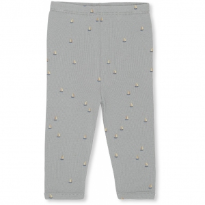 New Born Pants Mille Marine French Blue van Konges Slojd