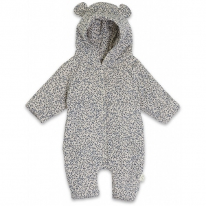 Onesie With Hood Blue Blossom Mist van Konges Slojd
