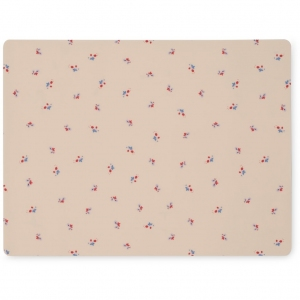 Placemat Silicone Bloom Red/Blue van Konges Slojd