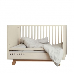 Bed Safety Rail The Peekaboo 120X60 Natural-White van Kutikai