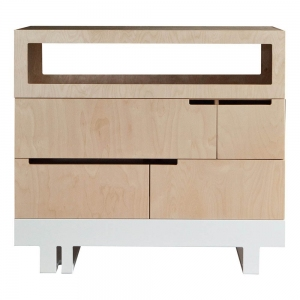 Commode Chest Of Drawers The Roof Naturel van Kutikai