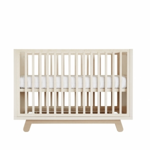 Ledikant Crib The Peekaboo 120X60 Natural-White van Kutikai