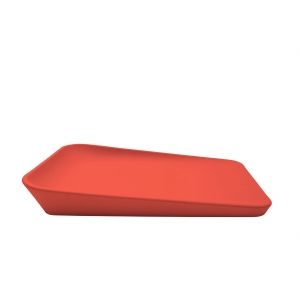 Leander Matty Changing Cushion Sunset Red van Leander