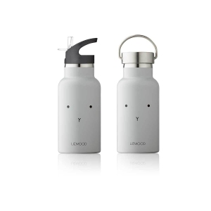 Anker Water Bottle Rabbit Dumbo Grey van Liewood