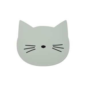 Aura Placemat Cat Dusty Mint van Liewood