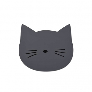 Aura Placemat Cat Stone Grey van Liewood