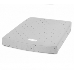 Coco Changing Mat Cover Panda And Dots Dumbo Grey 2pack  van Liewood