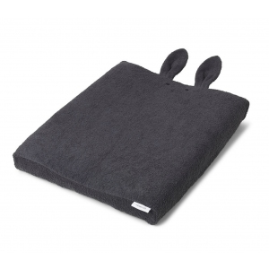 Egon Changing Mat Cover Rabbit Dark Grey van Liewood