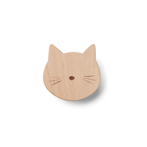 Ida Knob Cat Natural van Liewood