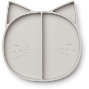 Maddox Multi Plate Cat Dumbo Grey van Liewood