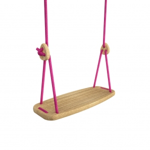 Lillagunga Classic - Oak - Fuchsia Rope van Lillagunga