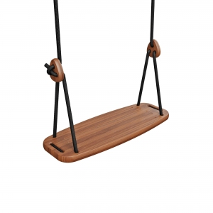 Lillagunga Classic - Walnut - Black Rope van Lillagunga