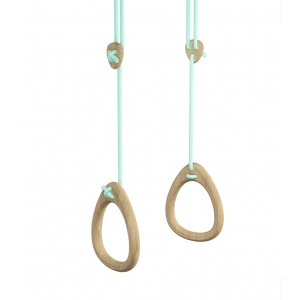 Lillagunga Rings - Birch Mint Standard Ropes van Lillagunga