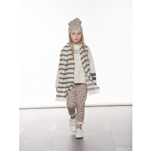 Cropped Jogger Leopard Bone van Little 10 Days