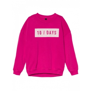 Oversized Sweater Happy Pink van Little 10 Days