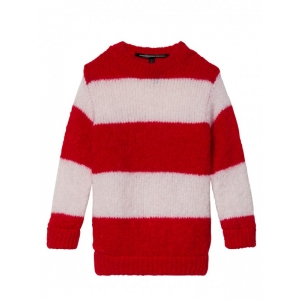 Sweater Dark Fluor Red van Little 10 Days