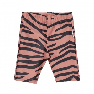Blushing Zebra Biker Shorts  van Maed For Mini