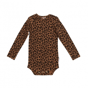 Body Chocolate Leopard Aop van Maed For Mini